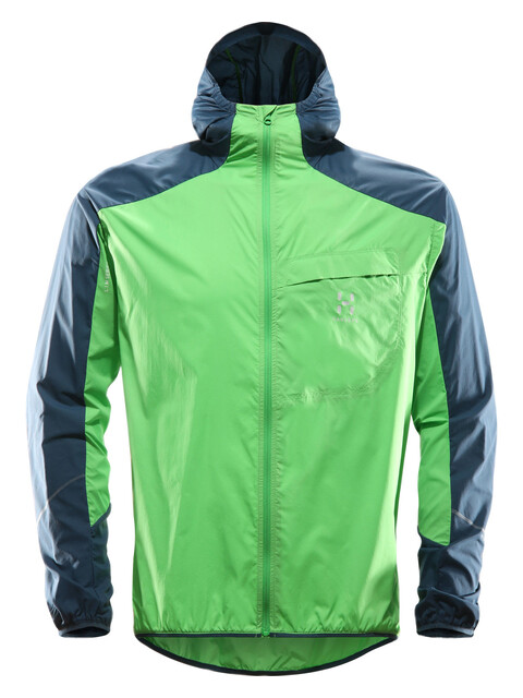 Haglöfs L.I.M Shield Hood Men sugarsnap green/blue ink